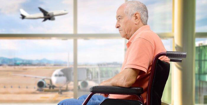 Частный перелет для людей с ограниченными возможностями